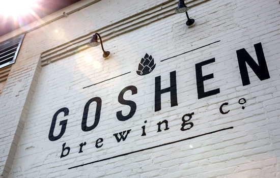 Goshen Brewing Company is a family-friendly brewpub