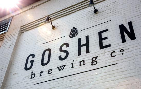 Goshen Brewing Company is a family-friendly brewpub