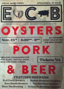 Oysters, Pork, and Beer @ Evil Czech Brewery and Public House | Mishawaka | Indiana | United States