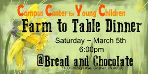 CCYC Farm to Table Dinner and Silent Auction @ Bread and Chocolate | Goshen | Indiana | United States