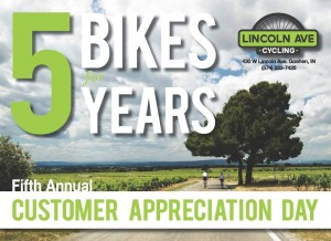 Customer Appreciation Day @ Lincoln Avenue Cycling  | Goshen | Indiana | United States