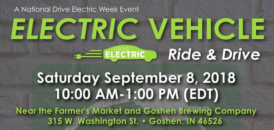 Goshen National Drive Electric Week Ride and Drive