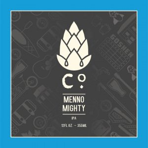 Can release: Menno Mighty IPA @ Goshen Brewing Company | Goshen | Indiana | United States