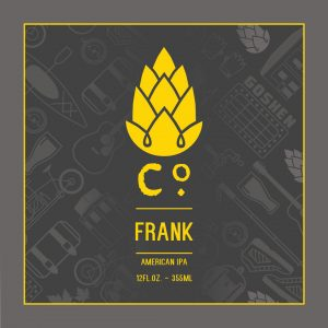 Can release: Frank IPA @ Goshen Brewing Company | Goshen | Indiana | United States