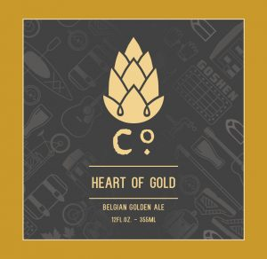 Can release: Heart of Gold Belgian Golden Ale @ Goshen Brewing Company | Goshen | Indiana | United States