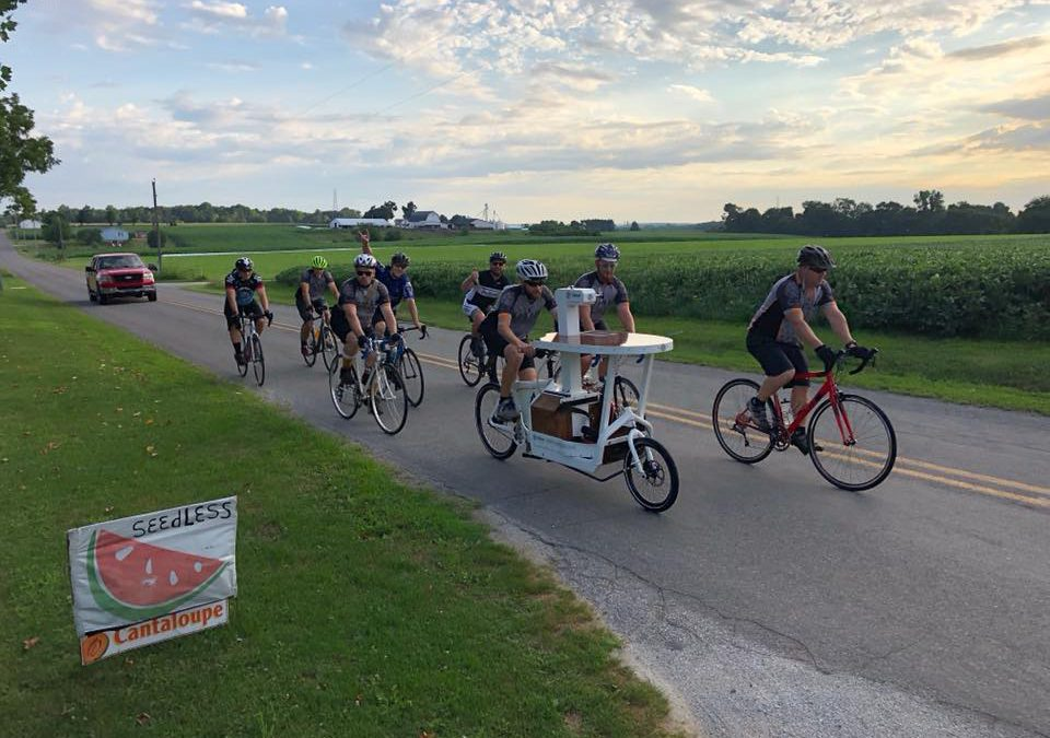 Beer bike ride & stop at Tin Man Brewing