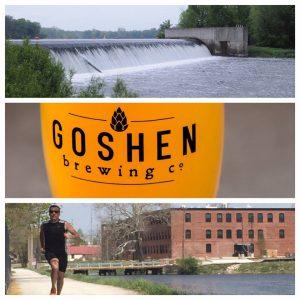 Goshen Millrace Dam Beer Run @ Goshen Brewing Company | Goshen | Indiana | United States