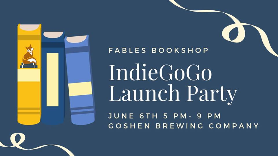 Fables Bookshop IndieGoGo Launch Party