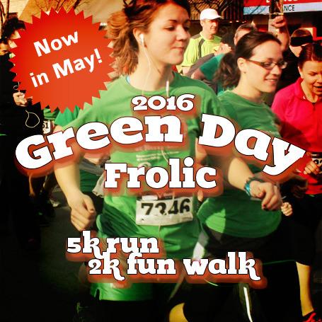 Green Day Frolic 5k run