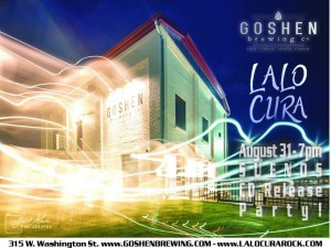 Lalo Cura album release party @ Goshen Brewing Company | Goshen | Indiana | United States
