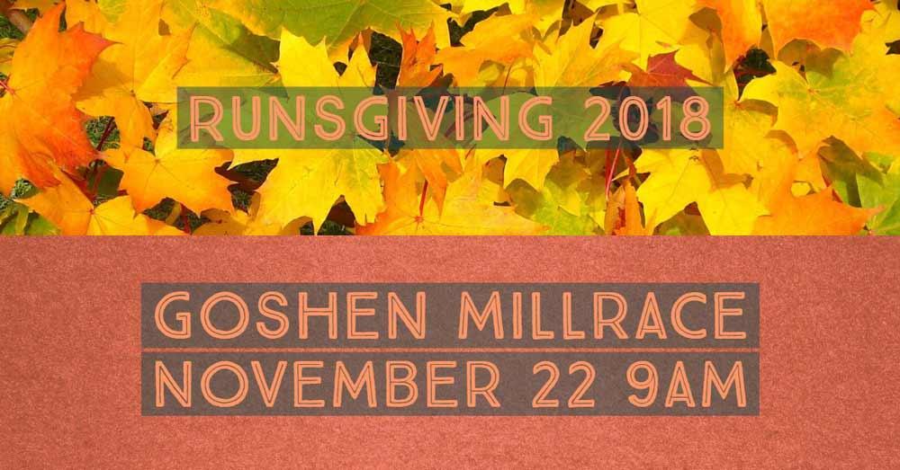Goshen Millrace Dam Beer Runsgiving
