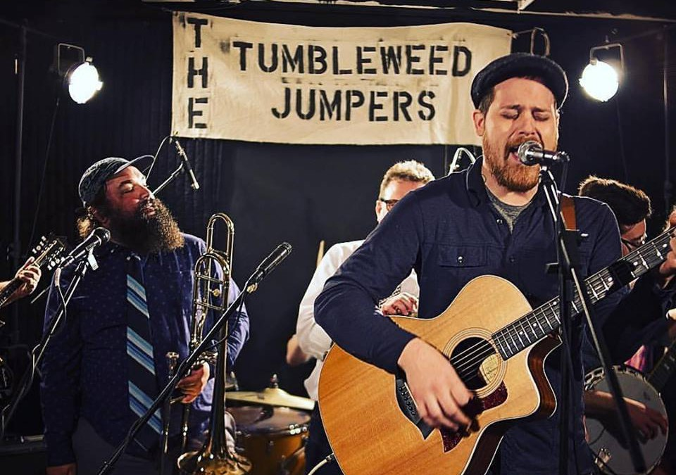 Tumbleweed Jumpers concert and collab beer release, wsg Moss Jaw