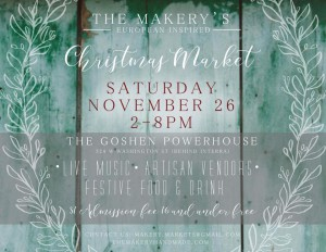The Makery's Christmas Market @ the Goshen Powerhouse | Goshen | Indiana | United States