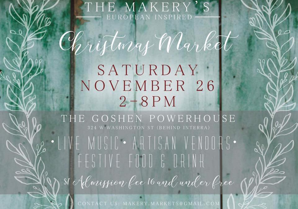 The Makery's Christmas Market