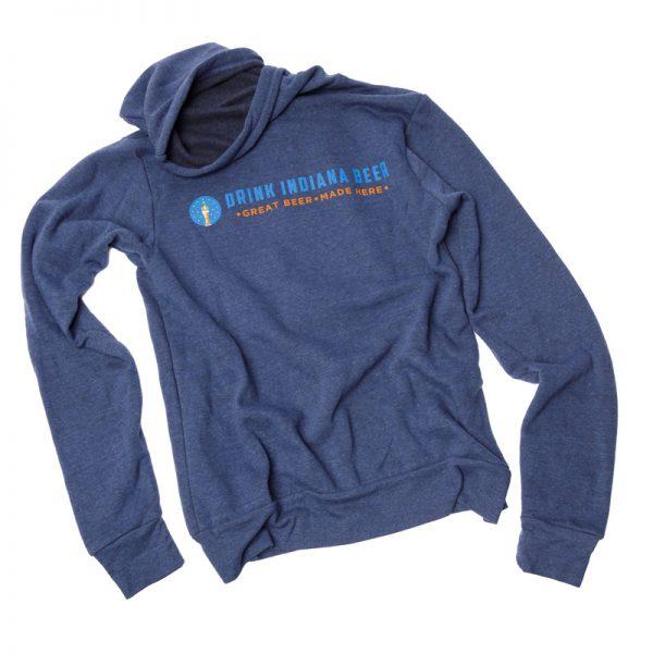 GBCo. zip-up hoodie - blue