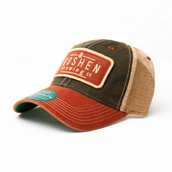 GBCo. mesh trucker hat - red