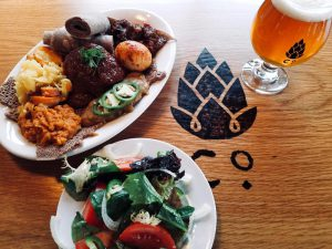 SOLD OUT- Ethiopian dinner- Ten Thousand Villages Fundraiser @ Goshen Brewing Company